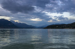 Lago annecy Foto de archivo libre de regalías