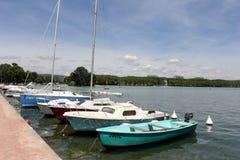 Lago annecy Fotografie Stock