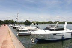 Lago annecy in alpi francesi Immagine Stock Libera da Diritti