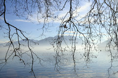Lago annecy en Francia Imágenes de archivo libres de regalías