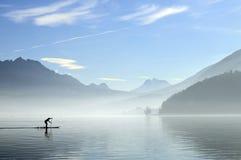 Lago annecy in Francia Fotografia Stock Libera da Diritti