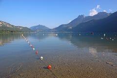 Lago Annecy, Francia Fotografia Stock
