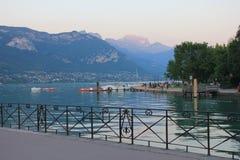 Lago Annecy Francia Fotografía de archivo libre de regalías