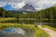 Lago Antorno Stock Images