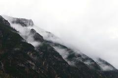 Lago Antorno Fotografia Stock