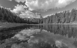 Lago Antorno Imagem de Stock Royalty Free