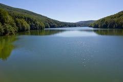 Lago ape de Trei (agua tres) Fotos de archivo libres de regalías