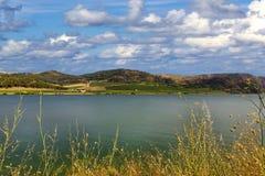 Lago Arancio Стоковые Изображения RF