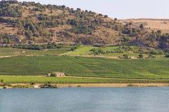 Lago Arancio Stock Image