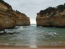 Lago Ard George Great Ocean Road Fotografia Stock