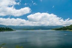 Lago arenal Imagen de archivo
