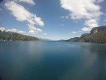 Lago in Argentina Fotografia Stock