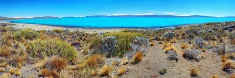 Lago Argentina (Lago Argentino), EL Calafate, Patagonia imagens de stock