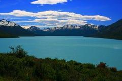 Lago Argentino, la Argentina Fotografía de archivo