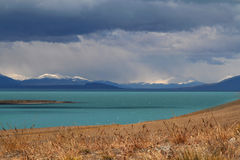 Lago Argentino Stock Photo