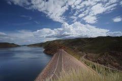 Lago Argyle Dam Foto de Stock Royalty Free