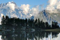 Lago Arpy immagini stock libere da diritti