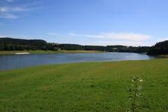 Lago artificial Imagenes de archivo