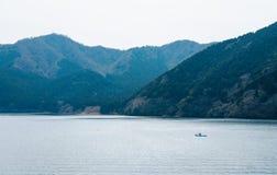 Lago Ashi, Hakone, Giappone fotografia stock