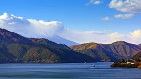 Lago Ashi Japan foto de stock
