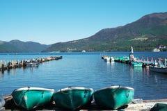 Lago Ashino Imagen de archivo libre de regalías