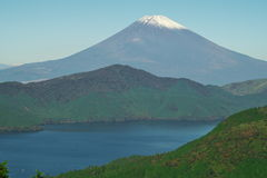 Lago Ashino e Mt fuji Imagens de Stock Royalty Free