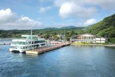 Lago Ashinoko, Hakone, Japão Fotos de Stock Royalty Free