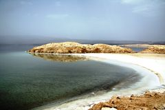 Lago Assal Foto de Stock