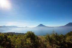 Lago Atitlan Foto de archivo libre de regalías