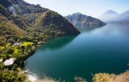 Lago Atitlan Fotos de archivo libres de regalías