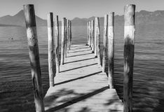 Lago Atitlan Fotografía de archivo libre de regalías