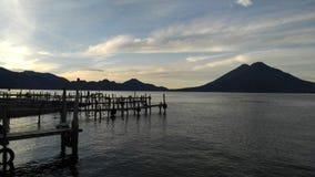 Lago Atitlan Fotografia Stock Libera da Diritti