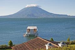 Lago Atitlan nel Guatemala Fotografia Stock Libera da Diritti
