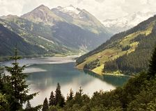 Lago Austia Fotografía de archivo libre de regalías