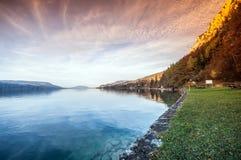 Lago austríaco Imagem de Stock