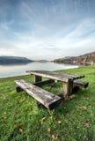 Lago austríaco Fotos de Stock