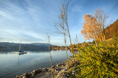 Lago austríaco Fotos de Stock Royalty Free