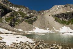 Lago Austria mountain Fotografia Stock Libera da Diritti