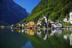 Lago austriaco di Millstatt Immagini Stock Libere da Diritti