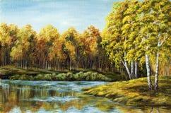 Lago autumn libre illustration