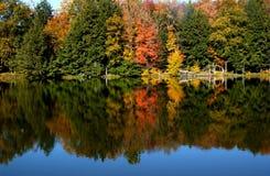 Lago autumn Fotografía de archivo libre de regalías