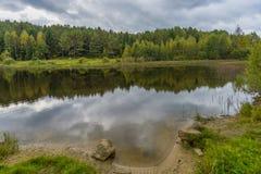 Lago autumn Fotografia de Stock Royalty Free