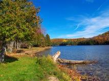 Lago autumn Fotografia Stock