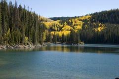 Lago autumn Fotos de Stock Royalty Free