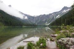 Lago avalanche imagens de stock royalty free