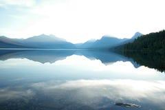 Lago avalanche foto de stock