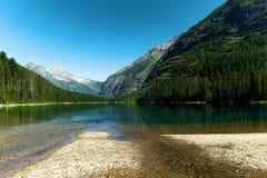 Lago avalanche imagem de stock