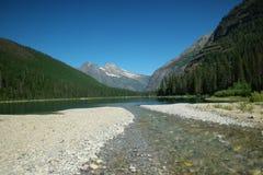 Lago avalanche fotos de stock