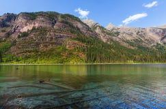 Lago avalanche imagens de stock