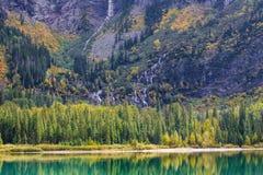 Lago avalanche Imágenes de archivo libres de regalías